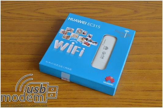 внешний вид 3g wi fi роутера Huawei ec315
