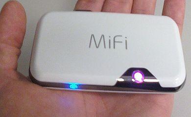 Novatel MiFi 2372 - беспроводная точка доступа через Wi-Fi