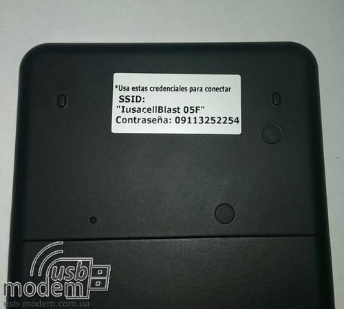 пароль для подключения к Novatel Mi Fi 2200