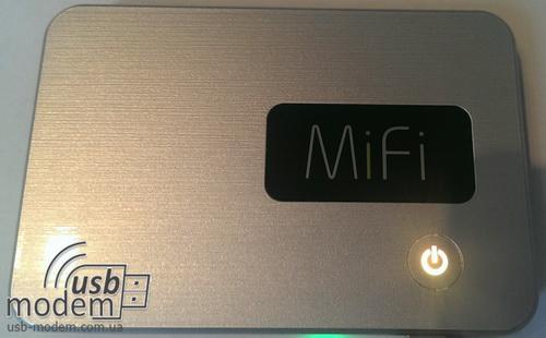 желтая кнопка novatel mi fi 2200