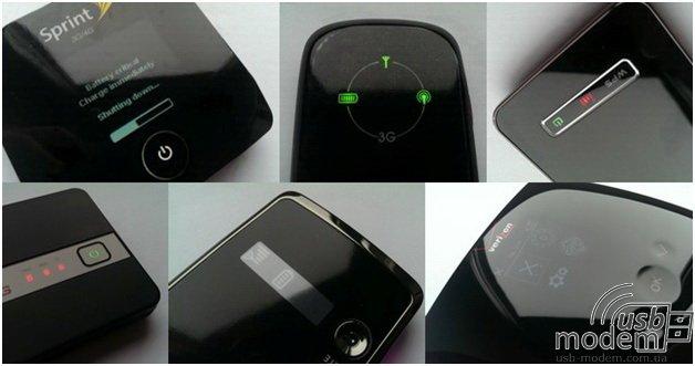 передняя панель (управление) 3g роутера