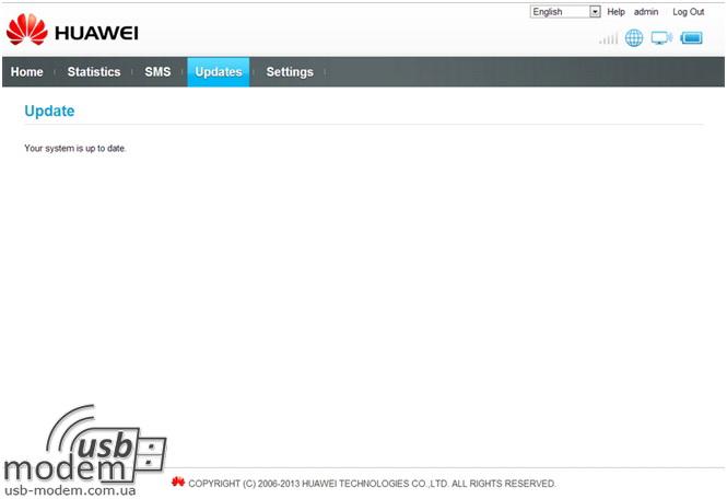 нет обновлений Huawei EC5321u-1