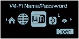 вкладка wifi в меню роутера novatel mifi 5510l