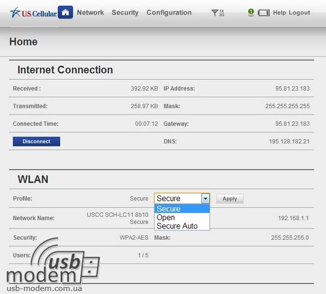 wi fi профиль тип шифрования сети samsung sch-lc11