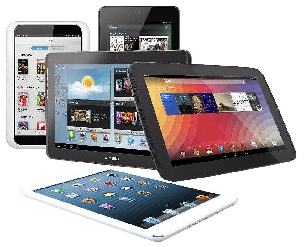 Разновидности планшетов