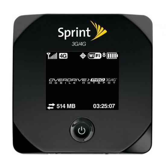 3g роутер sprint 4g wifi инструкция
